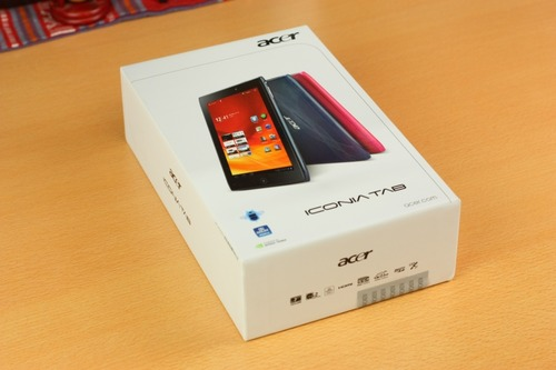 Acer ICONIA TAB A100パッケージ