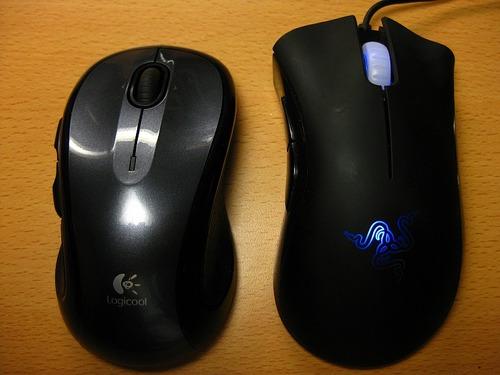 マウス比べ