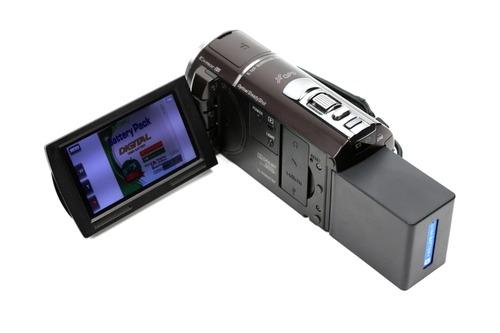 NP-FV100互換バッテリー