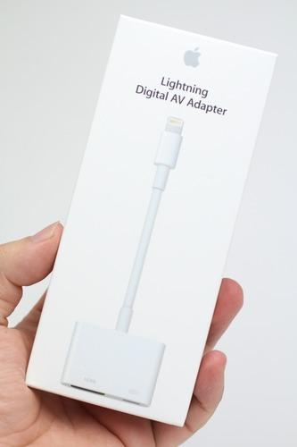 Apple Lightning Digital AVアダプタ パッケージ
