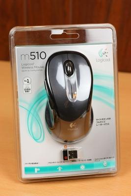 フルサイズのワイヤレスマウスM510