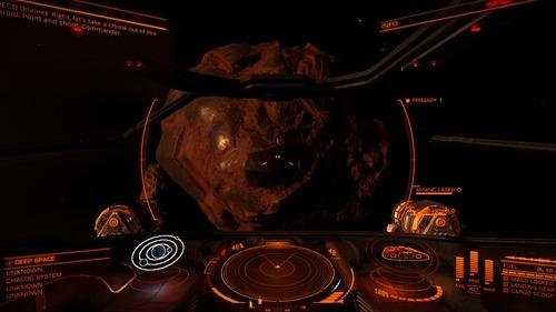 小惑星に近づく