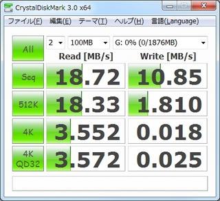IS03付属microSDカード