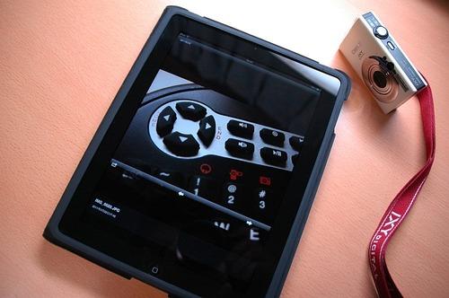 iPadとEye-Fiアプリ