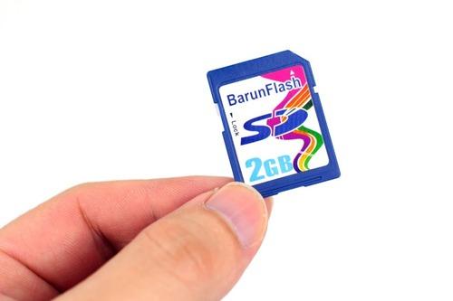 添付のSDカード