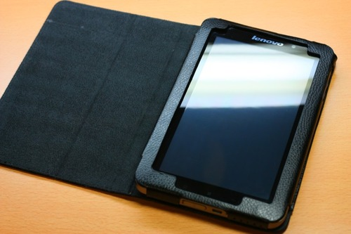 Lenovo IdeaPad Tablet A1用専用レザーケースOPEN