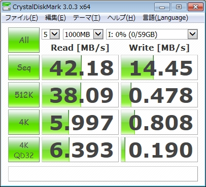 東芝microSDXCカード速度