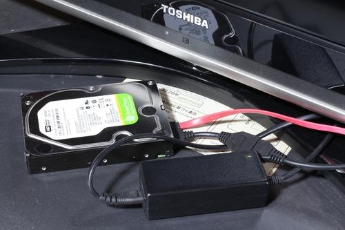 REGZA H7000とSATA HDD