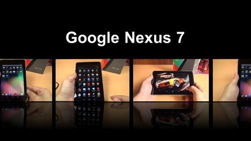 Google Nexus 7 動画レビュー