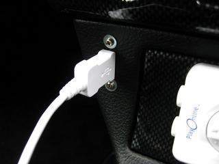 コペン搭載USBソケット