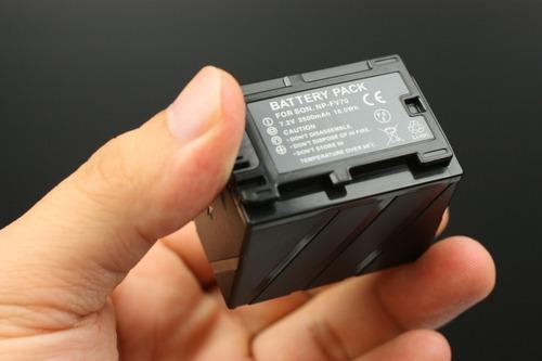 SONY NP-FV70互換バッテリー本体裏