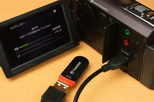 USBフラッシュメモリもOK
