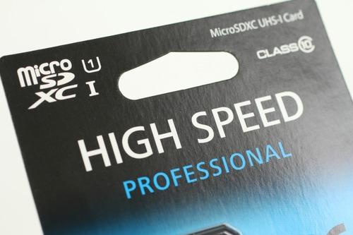 速度が売りのmicroSDXCカード
