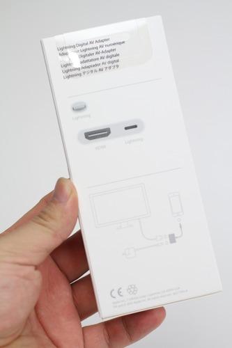 Apple Lightning Digital AVアダプタ パッケージ裏