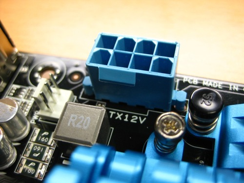 CPU用電源コネクタ