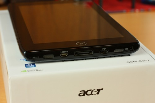 Acer ICONIA TAB A100 下部端子類