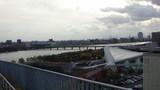 りゅーとぴあから信濃川