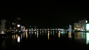 柳都大橋の夜景
