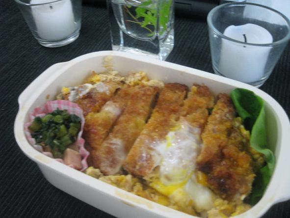 4月23日カツ丼弁当