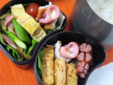 5月19日豆腐チキンの照り焼き弁当