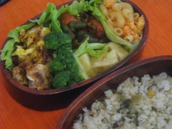 6月17日味噌豚焼きの卵とじ弁当1