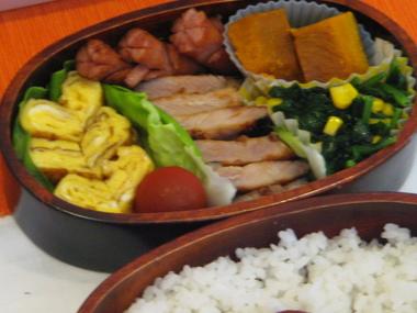 5月21日味噌豚焼き弁当