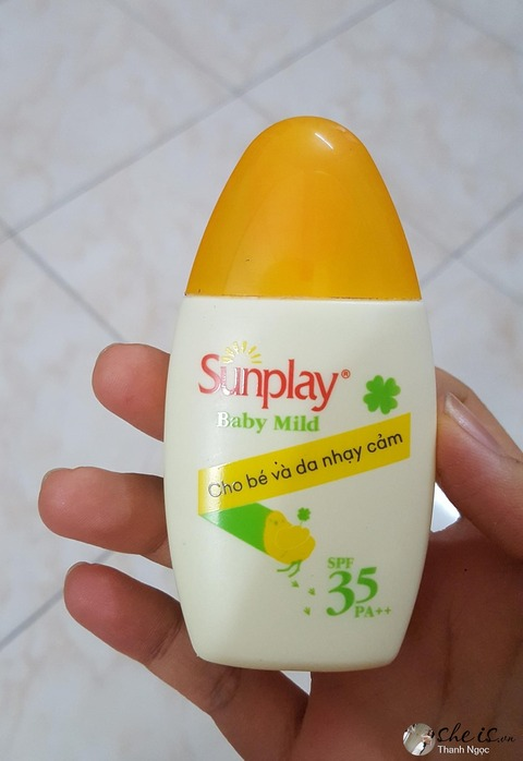 1-kem-chong-nang-sunplay-Sunplay Baby Mild SPF 35 PA