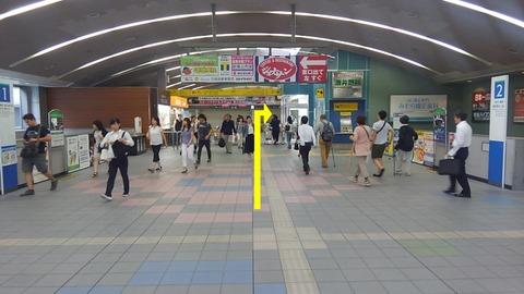 東久留米駅改札から1