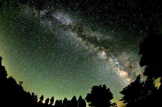 star filled sky
