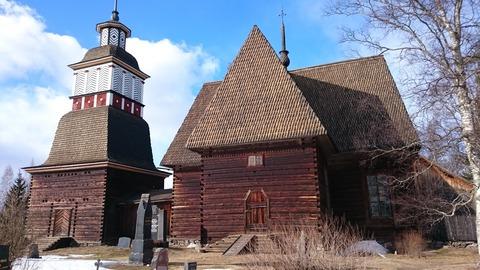 ペタヤヴェシの古い教会