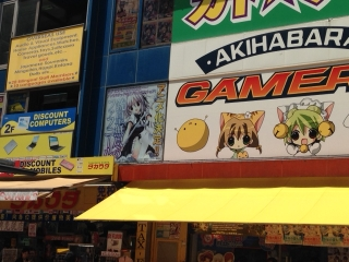 AKIHABARAゲーマーズ本店さんで『銃皇無尽のファフニール』看板展示中!