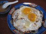 焼き豚卵飯