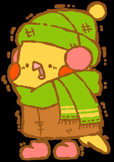 【フリー素材】さむインコ