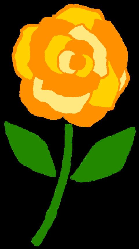 【フリー素材】父の日(黄色いバラ)