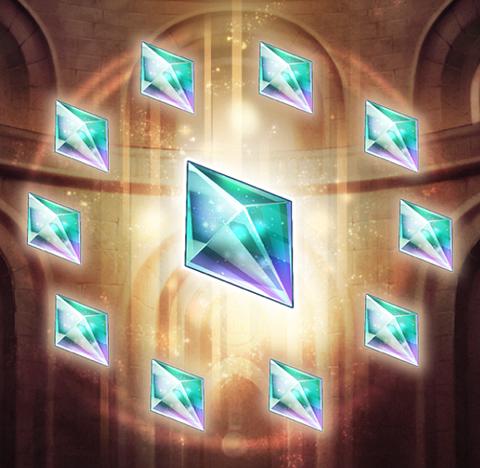魔晶石たくさん