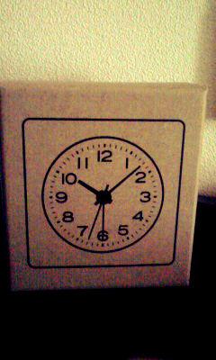 無印良品 アナログ時計・大 掛時計・ホワイト