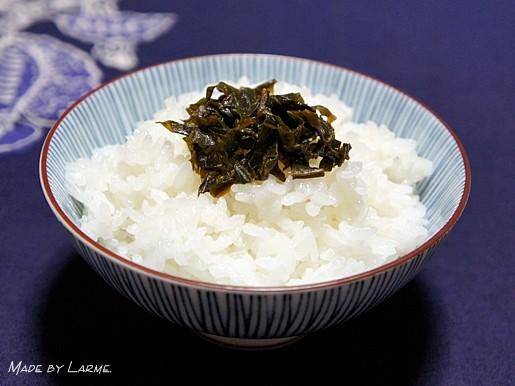 蕗の葉の佃煮1