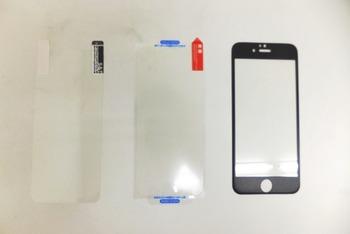 スマートフォン保護フィルム3種