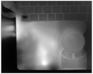 赤外カメラ画像_モノクロ