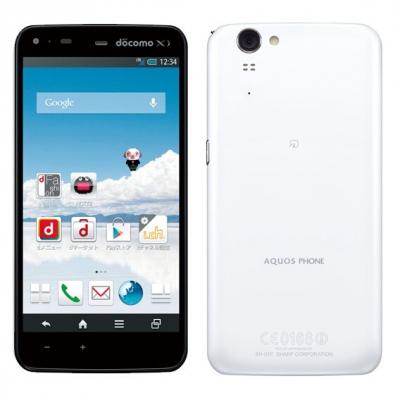AQUOS PHONE ZETA SH-01F ホワイト
