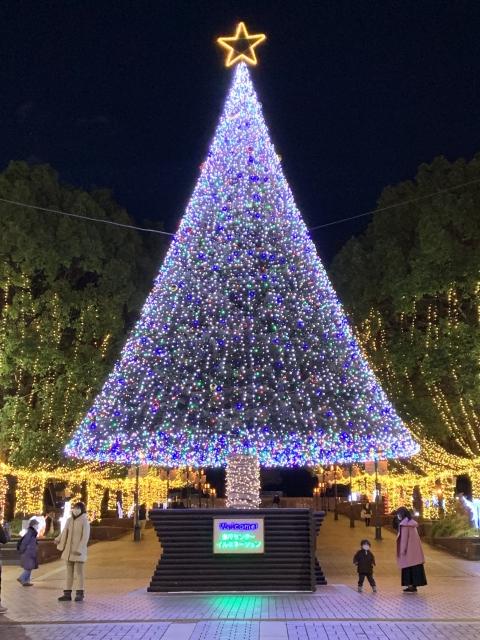 多摩センターイルミネーション2020クリスマスツリー