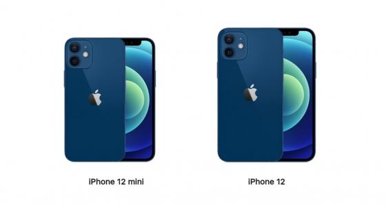 iPhone12mini、iPhone12
