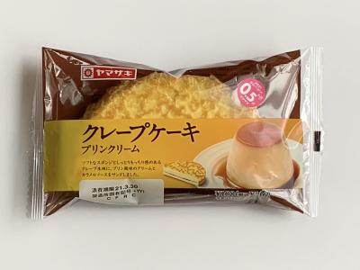 ヤマザキ クレープケーキ プリンクリーム