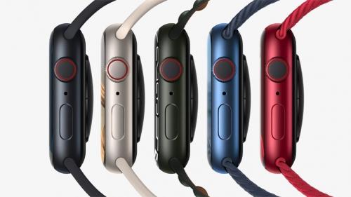 Apple Watch Series 7 側面