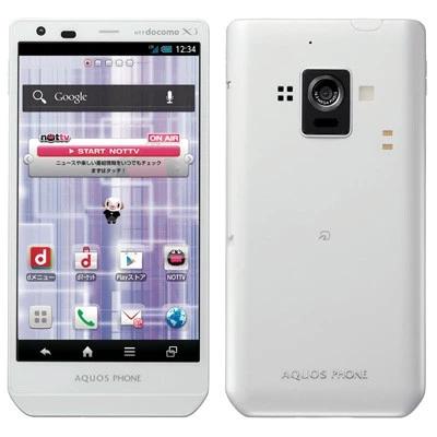 AQUOS PHONE ZETA SH-02E ホワイト