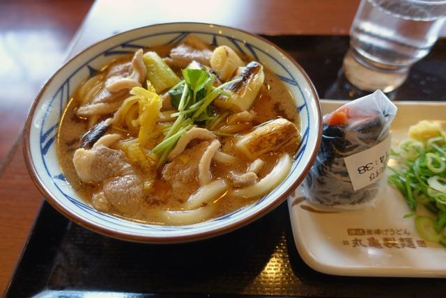 丸亀製麺新宮店 鴨ねぎうどん