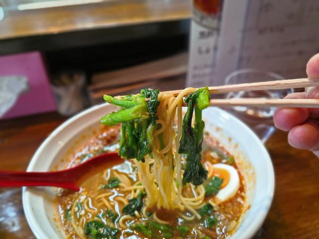 あづま屋担々麺 悠泉 担担麺4