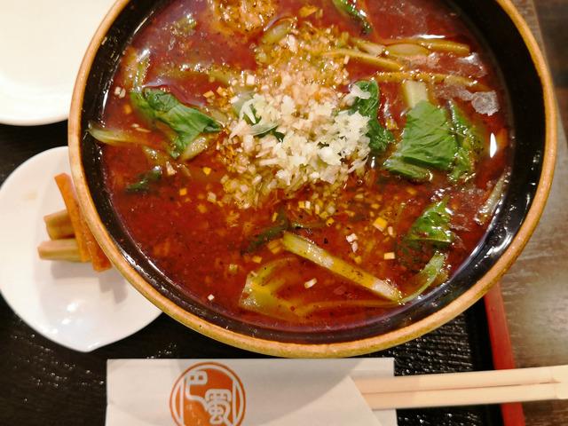 巴蜀 紅焼排骨麺3