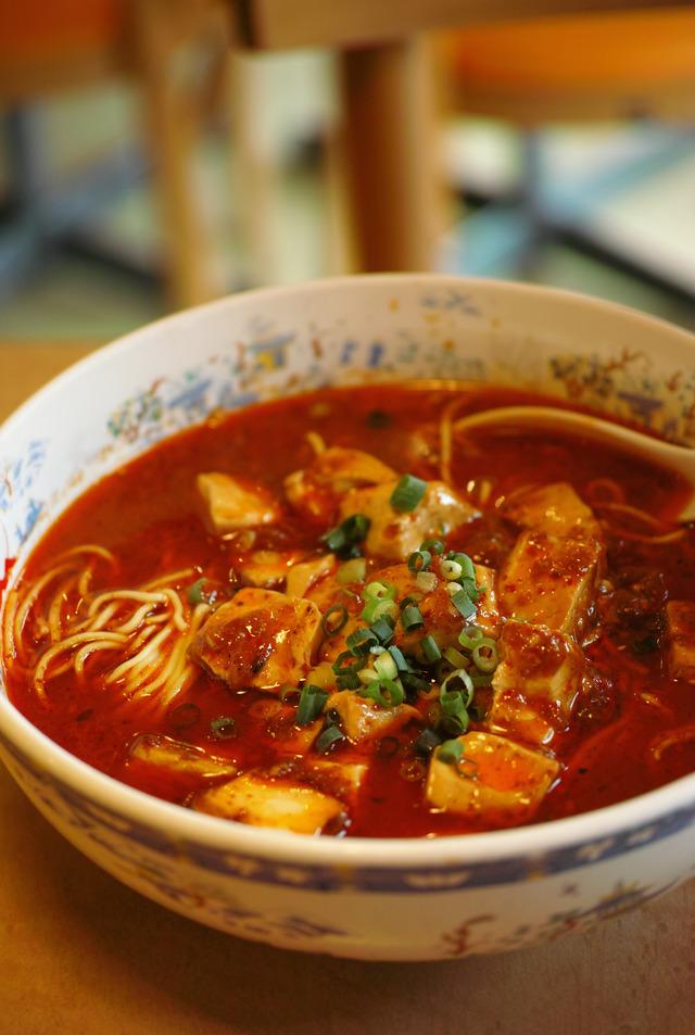 大明担担麺 麻婆豆腐麺