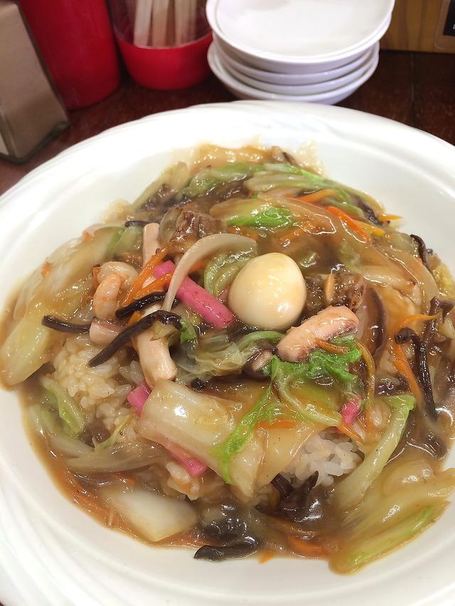クーニャン新館中華丼